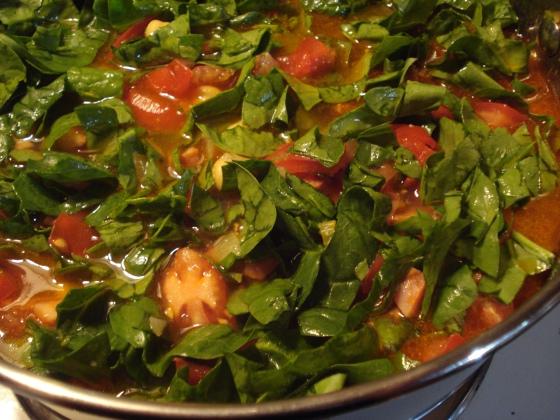 Chorizo & Chickpea Soup 2